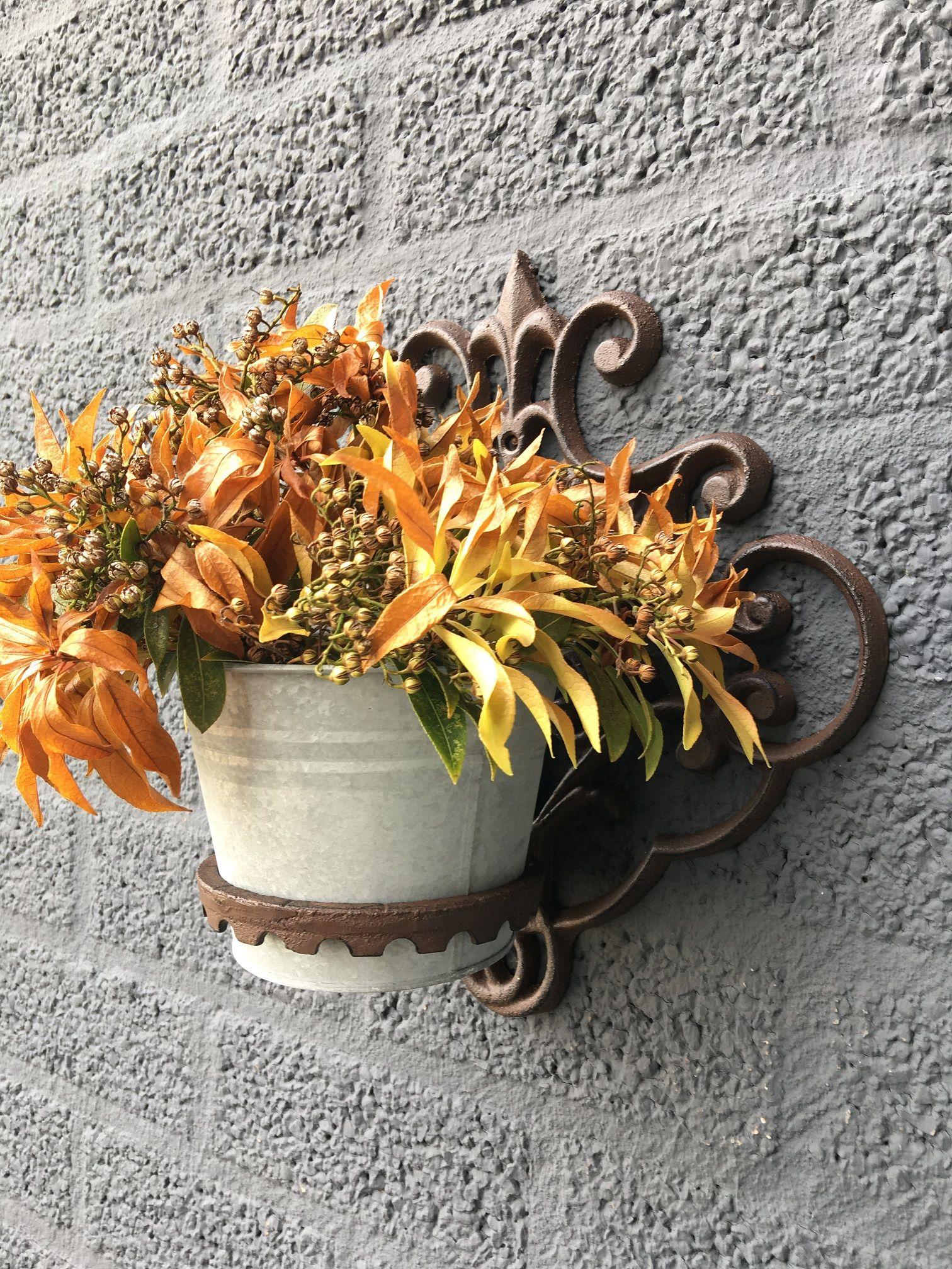 Tags bloempot pannenlap muur bloempot voor de muur muur decoratie bloemen bloembak